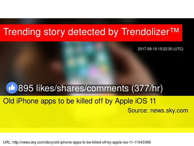 Old iPhone apps to be killed off by Apple iOS 11