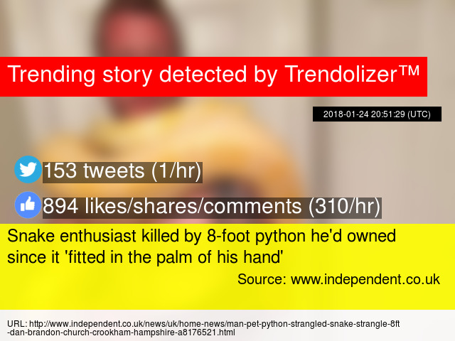 snake enthusiast killed by 8foot python he had owned - 640×480